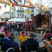 エスリンゲン(ネッカー川畔)の中世クリスマス市は思っていた以上に楽しい。