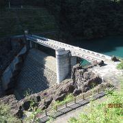 中津川にかかるダムです