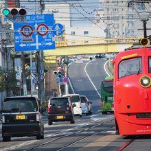 路面電車 (岡山電気軌道)