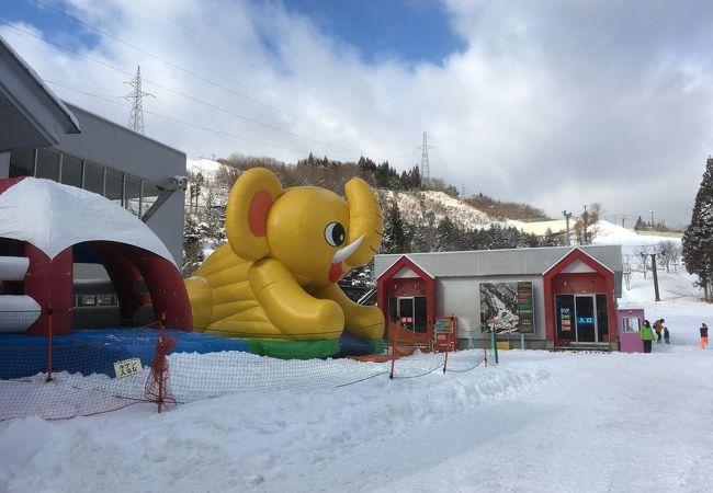 スキー 場 メリー セント