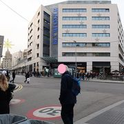 カタルーニャ広場すぐ