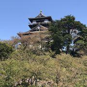 日本100名城の丸岡城(福井県)、現存天守閣の中でも最古とされる