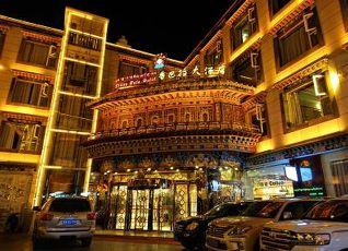 シャンバラ ホテル ラサ 写真