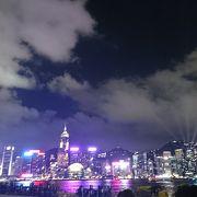 香港の夜のショー