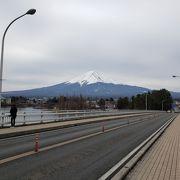 富士山が良くみえる