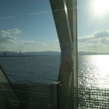 連絡橋からの景色