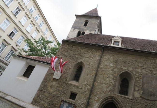 ウイーン最古の教会です