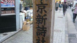 東京新詩社跡 (第四萩の家跡)