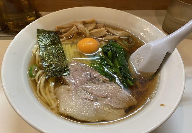 新橋駅:優しいスープのラーメン