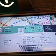パリ市内の移動はメトロに限る