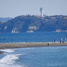 江ノ島も見えます。