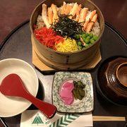 秋田空港内の和食屋さん