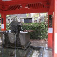 榛名神社 御水屋
