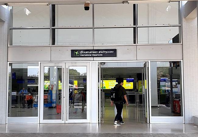 ラオス・ビエンチャンの国際空港