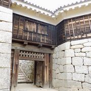 筒井門の奥