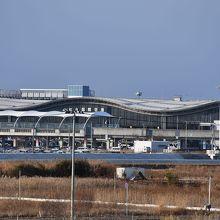 仙台空港の全景