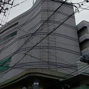 駅ビルです