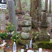 光秀は山崎の合戦後も生きていた? (明智光秀公の墓)