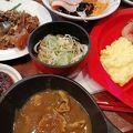 富山駅から徒歩15分位ですが、大きめの部屋とビュッフェ朝食でゆったりのんびりできました