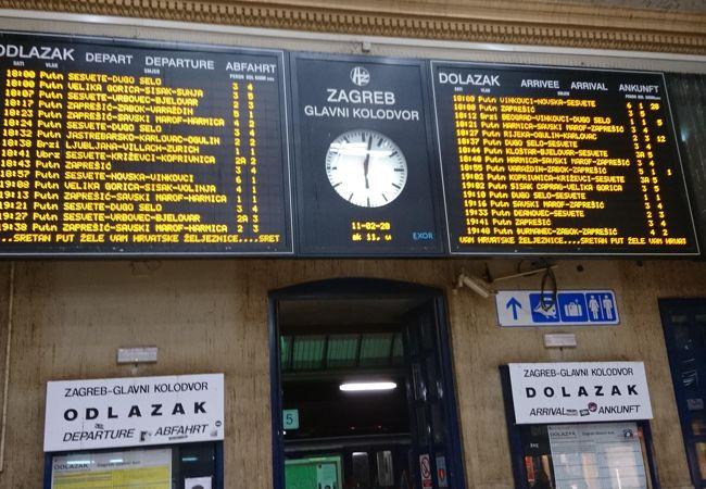 ザグレブ中央駅