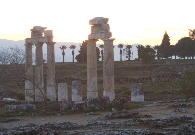 ローマ時代の温泉保養地
