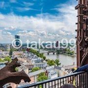 特に塔の上の展望台はフランクフルトの町が一望できるので超おススメです。