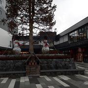 函館駅北隣の位置する複合施設
