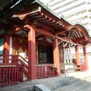 羽田空港近くの神社