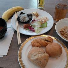 朝食は楽しかったです。