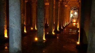 宮殿の様な地下貯水槽
