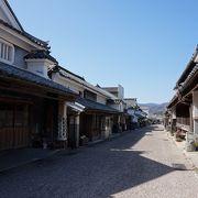 伝統的建造物が残る街並み
