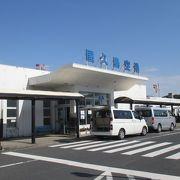昔ながらの地方空港でした。