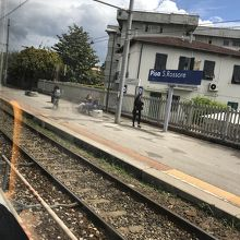 ピサ サン ロッソーレ駅
