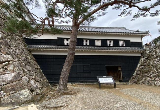 高知城 詰門