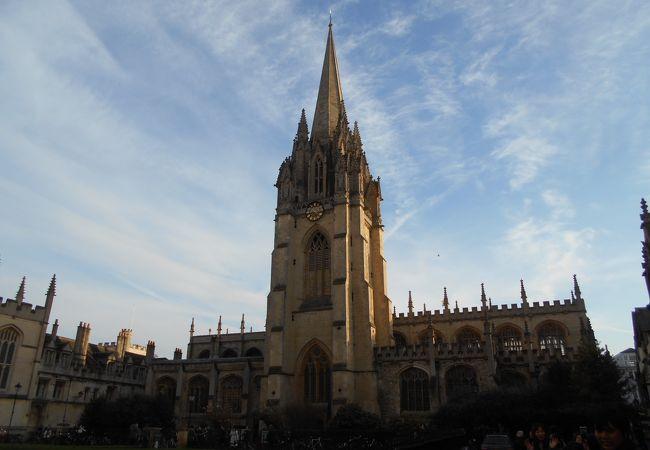オックスフォードにある教会です