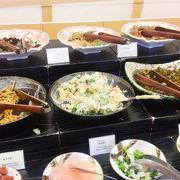 朝食は和食ビュッフェ