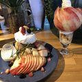 写真:桃の農家カフェ ラペスカ