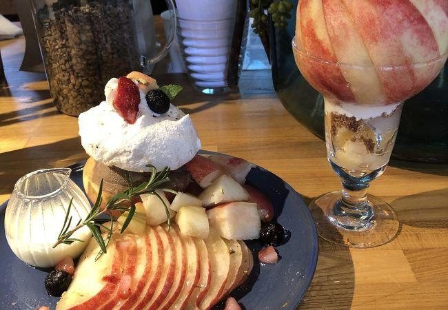 桃の農家カフェ ラペスカ