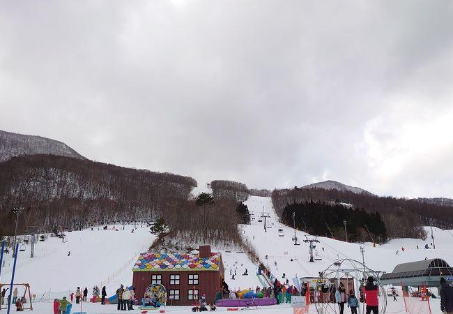 スキー 泉 場 バレー 高原 スプリング