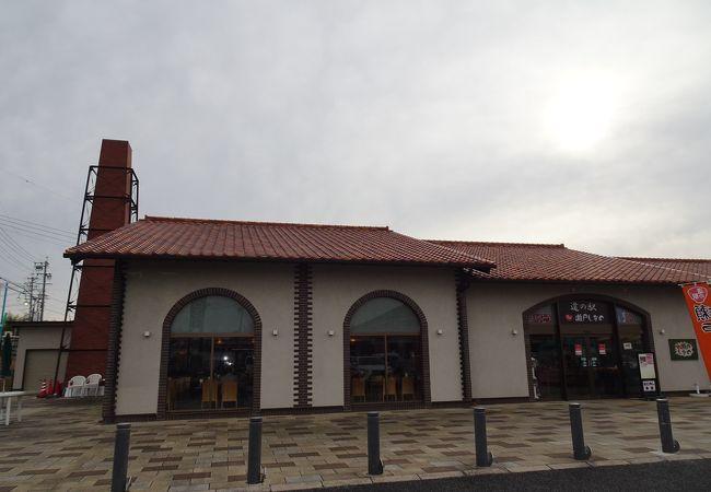 煙突がシンボルの道の駅 (道の駅 瀬戸しなの)