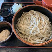 長野駅ビルで蕎麦