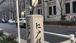 木枯らしの江戸桜通り
