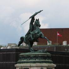 カール フォン エスターライヒ像