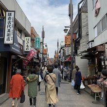 小町 コロナ 鎌倉 通り