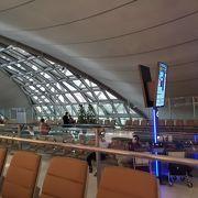 きれいな空港ですね