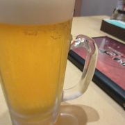やはりビールが