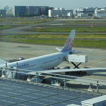HND-TSA:羽田のTIAT LOUNGE ANNEXにて