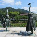 津和野 鷺舞の像