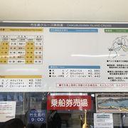 竹生島行きクルーズ