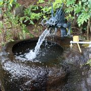 延命の湧水
